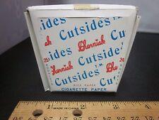 25 Pk CIGARETTE Rolling PAPER Vtg Cherniak Cutside Rice Rolling Spain Head Shop