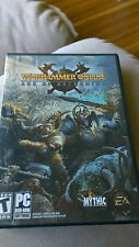 Warhammer Online Day Of Reckoning PC CD-ROM Computer Video Game Sword & Sorcery