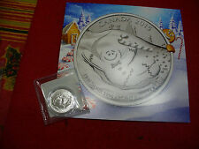 2015  20$ for 20$ .9999  FINE SILVER COIN  CANADA  GINGERBREAD  WITH CERTIFICATE