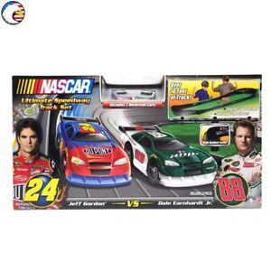 🏁NASCAR -Ultimate Speedway Track Set- #24 Jeff Gordon vs #88 Dale Earnhardt Jr