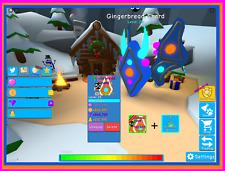 Bubble Gum Simulator Shiny Gingerbread Shard Secret Pet - Virtual Pet