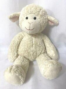 "Melissa & Doug Lamb Lovey Plush Stuffed Animal 16"" No Ribbon"