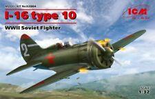 ICM 1/32 Model Kit 32004 Polikarpov I-16 type 10, WWII Soviet Fighter