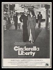 1973 James Caan photo Marsha Mason Cinderella Liberty movie trade print ad