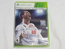 NEW FIFA 18 LEGACY EDITION XBox 360 Game SEALED 2018 Soccer legecy US NTSC