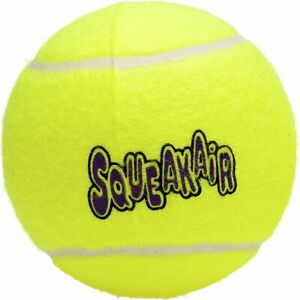 KONG® SqueakAir® Tennis Ball - PICK YOUR SIZE AND NUMBER OF PACK - FREE SHIPPING