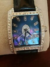 Croton Watch Diamond Case, Mother Of The Pearl Face