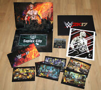 WWE 2K17 German Press kit PlayStation 4, Xbox One, PlayStation 3, Xbox 360