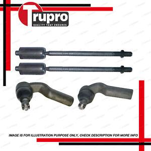 4 Pcs Outer Tie Rod End Front Rack End for Mazda 3 BK BL 2.0 2.3 power steer
