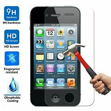 10x Wholesale Lot Tempered Glass Screen Protector for Apple iPhone 4 4S