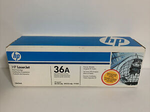 NEW HP 36A CB436A OEM Genuine Black Laserjet Toner Print Cartridge Sealed