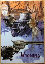 COMANCHE Les Loups du Wyoming Carte postale Hermann CP n°36 1984 Excellent état