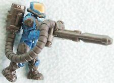 HALO Mega Bloks - UNSC Flamethrower Marine Blue Figure Toy