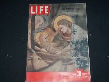 1948 DECEMBER 27 LIFE MAGAZINE - THE STORY OF CHRIST - L 632