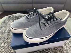 Sperry Top-Sider Men 8 M US Striper CVO Fleck Navy Blue Shoes STS12147