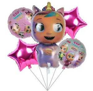Baby Cry 5 pcs Birthday Balloons party shower celebration all occasions baby