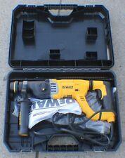 New ListingDeWalt D-Handle Sds Corded Electric Hammer Drill Kit - D25263K in Case Excellent