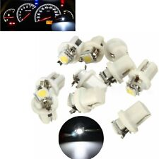 10X  T5 B8.5D Gauge 5050 1SMD LED Car Dashboard Dash Side Lights Bulbs Indicator