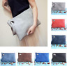 Fashion Women PU Leather Handbag Clutch Envelope Shoulder Evening Bag Purse