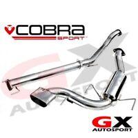 "VZ08h Cobra Sport Vauxhall Astra H VXR 3"" Cat Back Exhaust System Non Resonated"