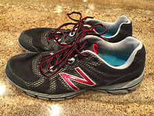 (Size 13) Men's New Balance 590 V2 M590BS2 Running Shoes Black/Silver/Gray