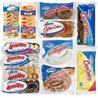 Hostess Variety Pack | Honey Buns, Coffee Cake, Donettes, Cakes, and Danish | 12