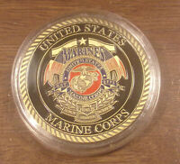 """US MARINE CORPS """"Release the Dogs of War"""", Commemorative Coin Semper Fidelis"""