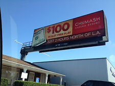 10' ft x 25' ft LED BILLBOARD in 16P / 16mm Resolution (20mm & 10mm Availabe)