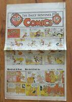 Vtg July 25 1965 Full Page Comics Blondie Donald Duck Lone Ranger Flash Gordon +