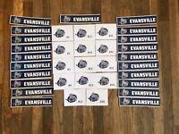 Evansville Icemen Game Used Locker Room Nameplates Jacksonville ECHL A