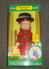 Madeline International Traveler Poseable Doll - England - 8 inches tall