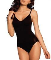 Body Wrap BLACK Firm Control Wire-Free Bodysuit Abodmen Slimmer US Underwear Top
