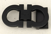 Salvatore Ferragamo Buckle for Mens Belts Black matte Metal Made in Italy