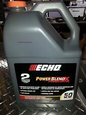 Echo One Gallon Bottle 2 Cycle Engine Oil Power Blend 50 GAL MIX [ECH][6450050]