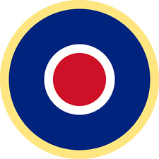British RAF Roundel (Type C1) Exterior Vinyl Model Military Plane Aircraft Decal