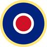 British RAF Roundel (Type C1) Exterior Vinyl Model Military Plane Aircraft Decal