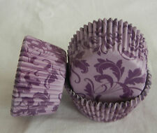 CK159 - Purple flower cupcake liner baking paper cup muffin case free shipping