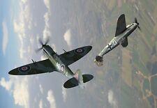 L'Ouragan acrobatique duel avec Messerschmitt War Poster