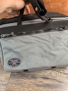 RED OXX Laptop Messenger Briefcase Travel Commuter Crossbody Bag Gray Black E1