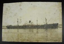 E Nossoff ancien navire marchand de commerce Toulon photographie bateau c1900