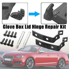 For Audi A4 S4 RS4 B6 B7 8E Glove Box Lid Hinge Snapped Bracket Repair Kit Black