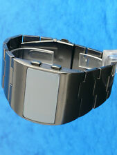 1Rare old style modern futuristic 70s seventies space age mens led l.e.d watch 5