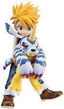 Megahouse Digimon Adventure: Yamato Ishida & Gabumon GEM PVC Figure
