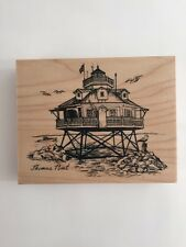 PSX Rubber Stamp THOMAS POINT LIGHTHOUSE #K2778
