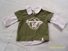 H & M L.O.G.G.?  Mädchen Shirt  Hemd Pulli Lagenoptik? Gr. 62 ? 2 - 4  M.