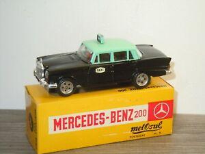Mercedes 200 Taxi - Metosul 10 Portugal in Box *49149