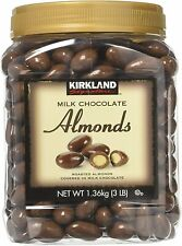 Kirkland Signature Milk Chocolate Almonds 1.36kg