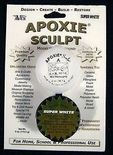 Aves Apoxie Sculpt Super White 2-Part Self-Hardening Modeling Compound 1/4 lb