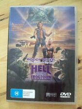HELL COMES TO FROGTOWN – DVD, ROWDY RODDY PIPER, REGION 4, SEALED BRAND NEW