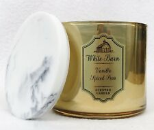 1 Bath & Body Works VANILLA SPICED PEAR Large Scented 3-Wick Candle 14.5 oz